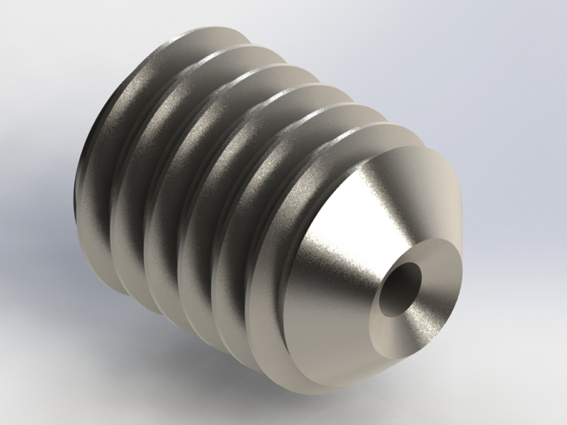 Metric threaded inserts m on o