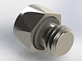 Miniature Stainless Steel Fittings 10-32 UNF Plug